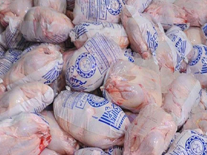 مرغ منجمد برای ایام پایانی سال و نوروز ذخیره شده است