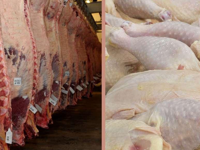 تعادل در بازار شب عید گوشت قرمز و مرغ