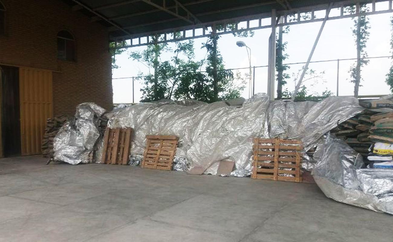 کشف 200 تن خوراک فاسد دامی در نظرآباد