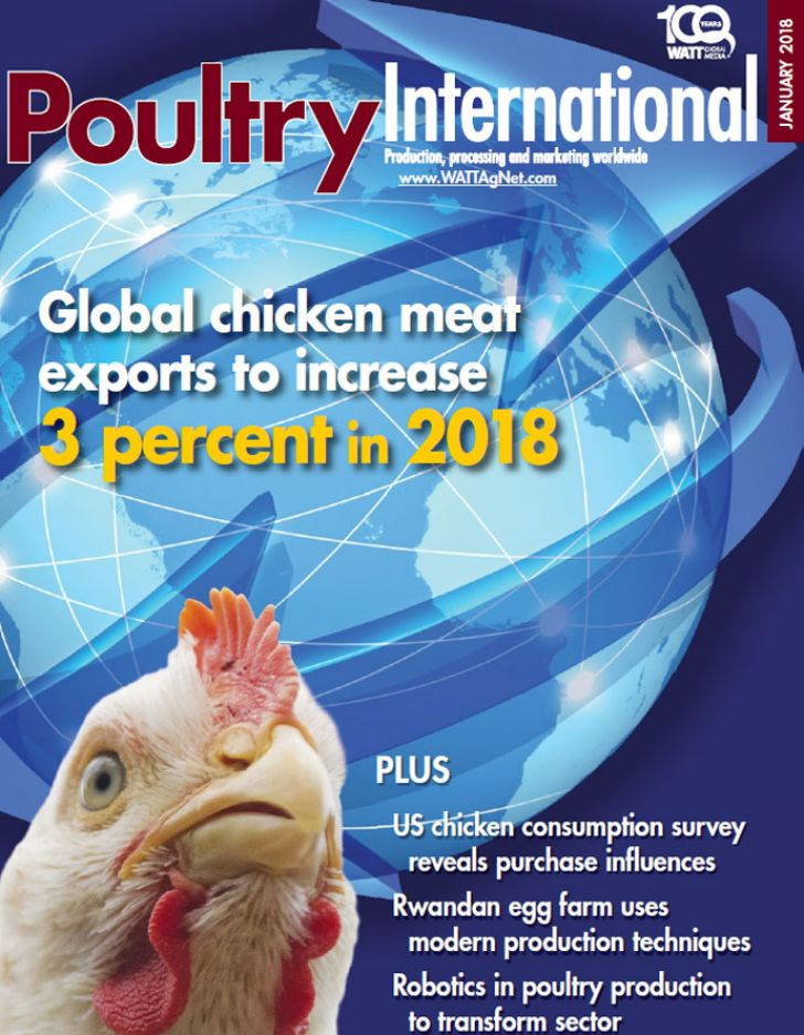 دانلود مجله poultry international January 2018