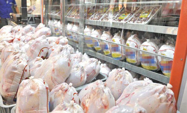 نرخ هر کیلو مرغ در غرفههای سطح شهر ۶۳۵۰ تومان
