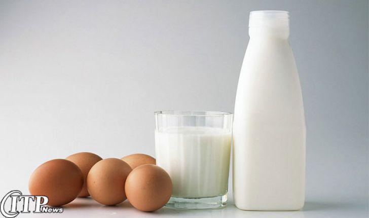 سرانه مصرف تخم مرغ و مواد لبنی در ایران؟