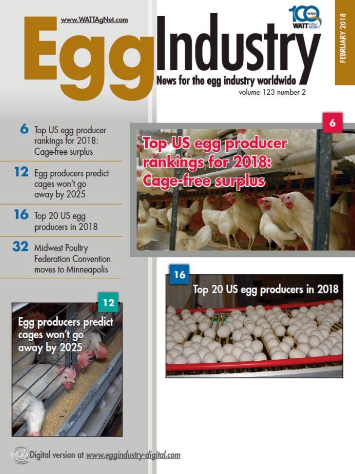 دانلود مجله Egg Industry February 2018