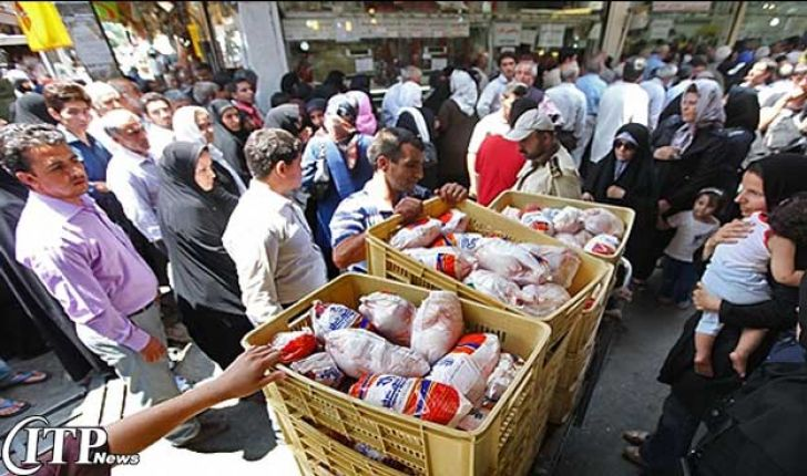 مرغ منجمد ماه رمضان با تاریخ مصرف 6 ماه عرضه می شود
